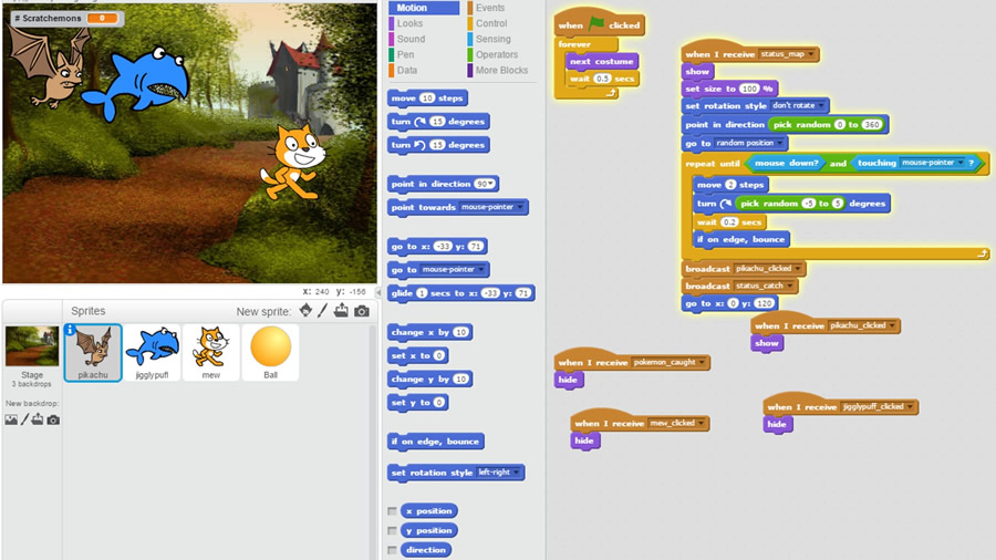Block-based Programming - Scratch